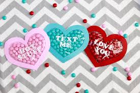 valentines day heart candy s day conversation heart candy pocket crafts handmade