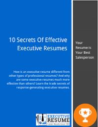 top executive resume writing samples template tools