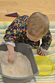 rice table for kids rice bin sensory play