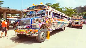 jeepney philippines art diablo rojo catching a last ride with panama u0027s mobile art