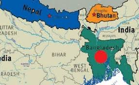 map of nepal and india bangladesh bhutan india nepal sign motor vehicle agreement