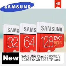Memory Card Samsung 256gb samsung micro sd kaart 128 gb 256 gb geheugenkaart evo plus 64 gb 16