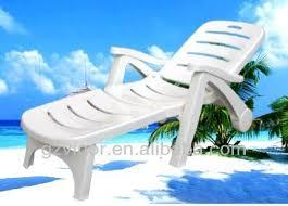 White Resin Chaise Lounge Plastic Beach Lounge Chairs Plastic Beach Lounge Chairs Suppliers