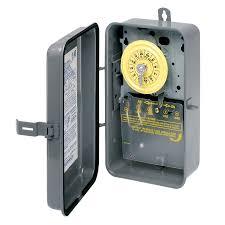 intermatic 40 amp mechanical residential hardwired lighting timer
