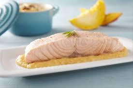recettes cuisine vapeur recette de vapeur de saumon au romarin mousseline de potiron aux