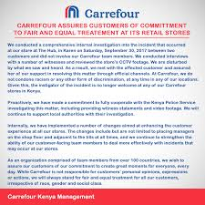 carrefour si e social carrefour supermarket bans shopper from its nairobi stores