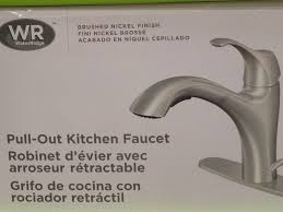 wr kitchen faucet waterridge nannini series kitchen faucet touch on kitchen sink