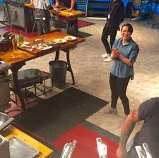 Hit The Floor Network - chef alyssa tried to u0027beat bobby flay u0027 observations from her 1st