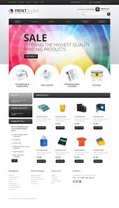 print shop website template 24268 3d printing templates template
