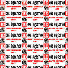 one direction wrapping paper one direction wrapping paper ebay