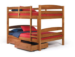 buy woodcrest 4154 pine ridge square post full full bunk bed