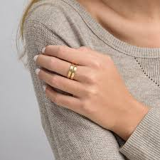 two finger name ring two name ring with gold plating mynamenecklacecanada