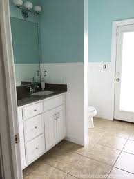 Installing Wainscoting In Bathroom - how to install wainscoting confessions of a serial do it yourselfer