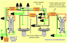 wiring diagram for 3 way switch with multiple lights u2013 readingrat net