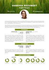 picture resume template vesterbro nature resume template