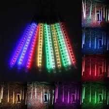 outdoor tube lighting 10 tube 50cm led meteor shower rain fall outdoor christmas xmas