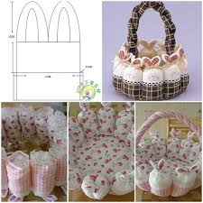 bunny basket diy easter bunny basket tutorial pictures photos and images for