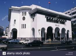 stock bureau maroc maroc casablanca bureau de poste la façade extérieure par loggia