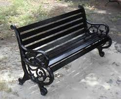 fresh cast iron garden bench antique 25894