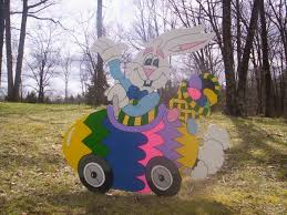 Outdoor Easter Decorations Lights by Outdoor Easter Bunny Decorations Outdoor Easter Decorations
