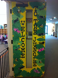 Welcome Back Surprise Ideas by Classroom Door Decorations Bulletin Board Ideas Jungle