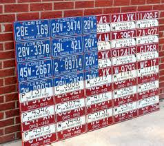 License Plate Map Of The United States by License Plate Art And License Plate Maps By Design Turnpike Us