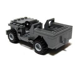 lego jeep amazon com brickmania us army jeep 100 lego toys u0026 games