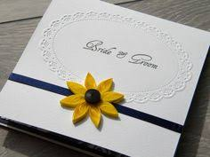 Sunflower Wedding Invitations Sunflower And Navy Blue Wedding Invitation Sunflower Wedding