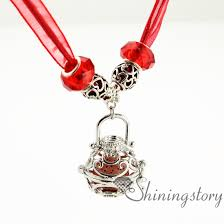 charm necklace wholesale images Openwork essential oil necklace diffuser necklaces wholesale jpg