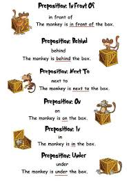 71 best prepositions voorzetsels leren images on pinterest