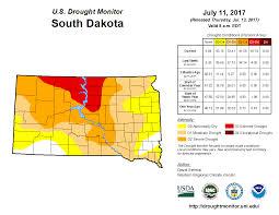 South Dakota County Map Drought Conditions Expand In South Dakota Sdpb Radio