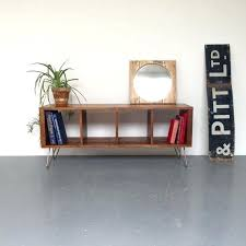 Storage Console Table This Stylish Storage Console Table Is Ideal For Use As A Vinyl