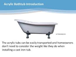 the kingston brass aqua eden bathtub collection powerpoint