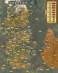 Map Of Essos Rampant Monkey