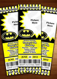 batman invitation digital file by theredwagondesigns on etsy