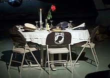 army fallen comrade table script missing man table wikipedia