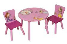 Princess Table And Chairs Children U0027s Princess Fairies Tables And Chairs Ebay