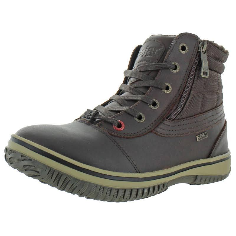 Pajar Tavin Leather Waterproof Winter Boots Brown 44 EU/11-11.5 US