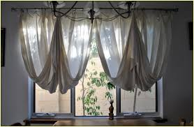 Sheer Curtains With Valance New Sheer Curtain Valance Ideas