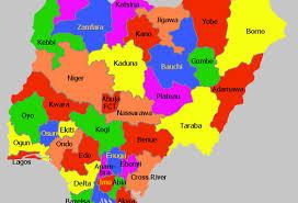 Nigeria State Map by Nigeria By Kaylee Hanks