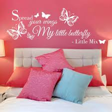 little mix spread your wings lyrics wall sticker decal kids little mix spread your wings lyrics wall sticker decal kids bedroom wqa60 ebay