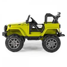 jeep car green jeep trailcat electric ride on car green