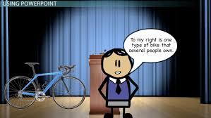 developing a thesis statement from your speech topic video