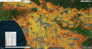 Los Angeles Ethnicity Map by Us Poverty U0026 Wealth
