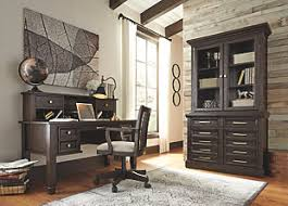 Home Office Desk With Hutch Townser Home Office Desk With Hutch Furniture Homestore