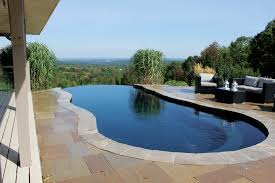 Primitive Home Decor The Right Infinity Edge Pool Design Delivers A Luxury Swimming