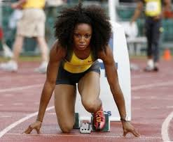 how to style hair for track and field natasha hastings gatorade pinterest natasha hastings track