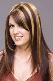 dark brown hair with highlights and bangs hairstyle picture magz