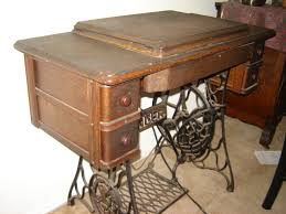 Antique Singer Sewing Machine Table The Vintage Singer Sewing Machine Blog July 2011