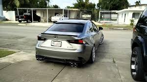 lexus 2014 is 350 2014 lexus is350 custom exhaust part 1 youtube